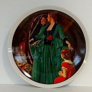 Norman Rockwell Mother's Day 1984 Plate